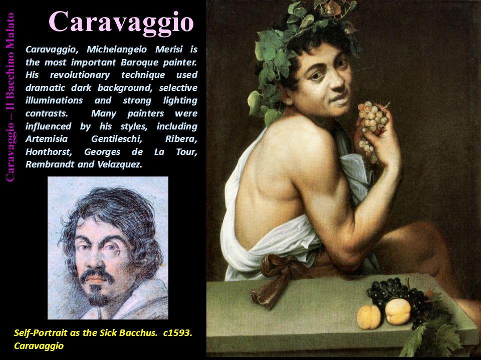 Caravaggio – Il Bacchino Malato Aeneas Flight from Troy.