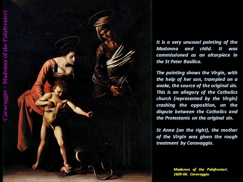 Caravaggio – Saint Jerome St Jerome. 1605-06. Caravaggio.