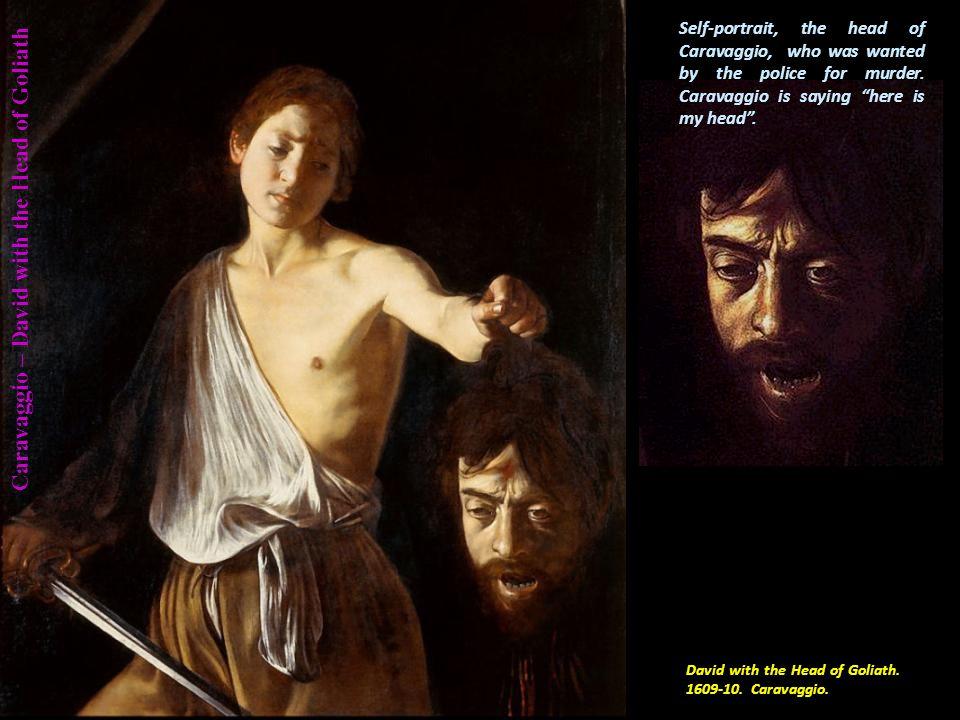 Caravaggio – Madonna of the Palafrenieri Madonna of the Palafrenieri.