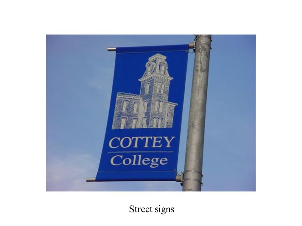 The entire town welcomed Cottey students of all ages Welcome