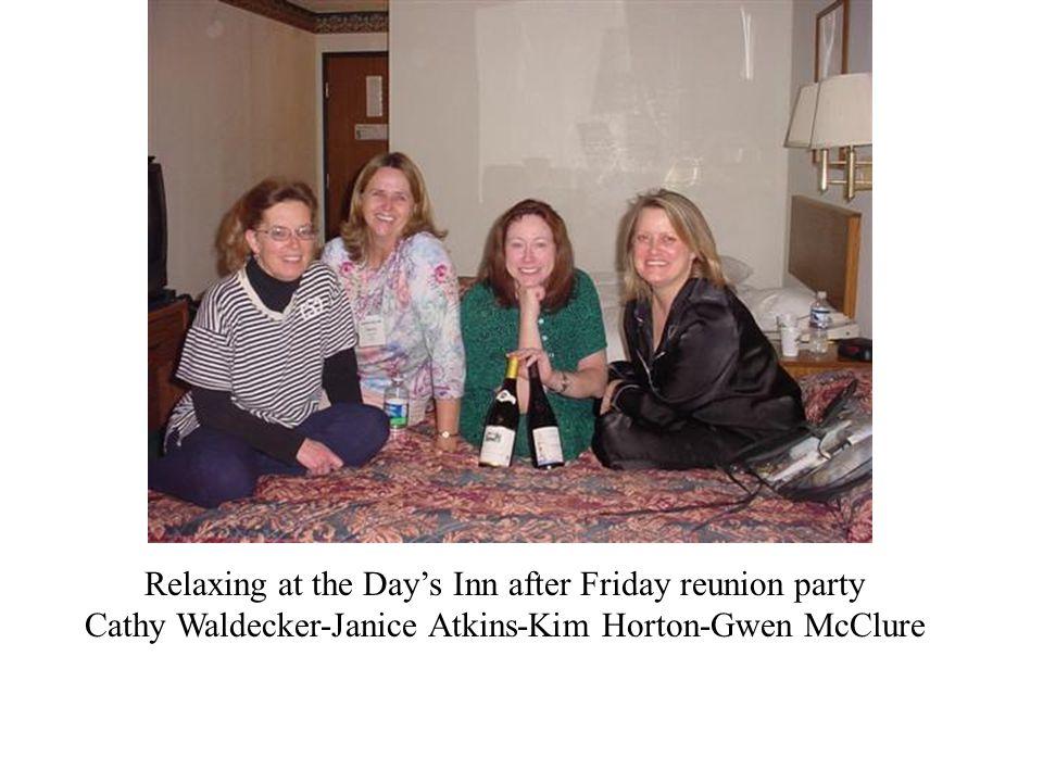 Back: Lois Sabin & Karen Berger (77) Front: Martha Shroyer & Margaret Beason