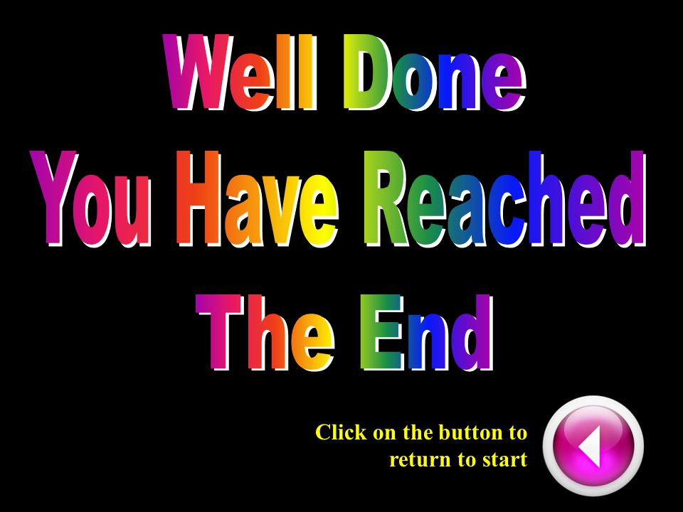 Click on the button to return to start