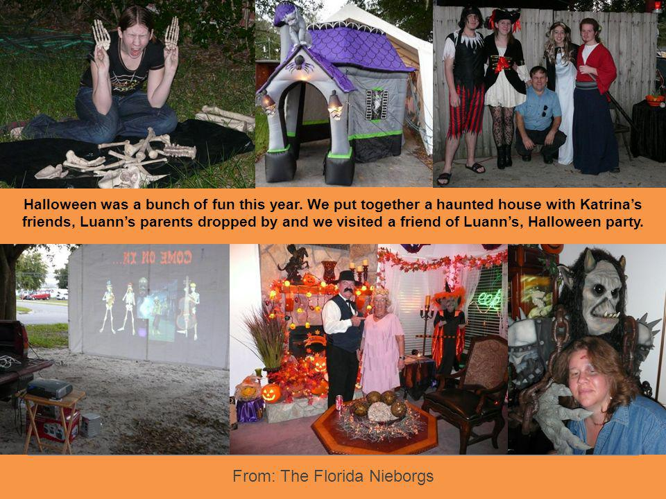 From: The Florida Nieborgs Text Florida Keys - Key Largo Taken On The Night Of Their Engagement