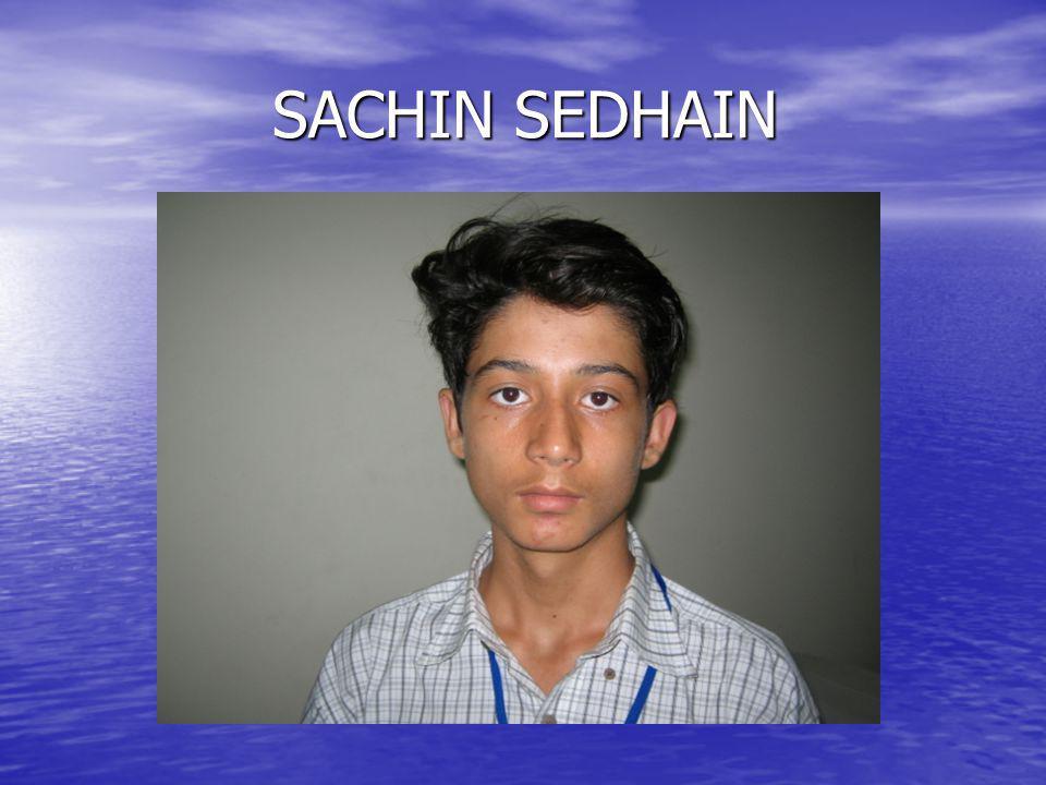 SACHIN SEDHAIN