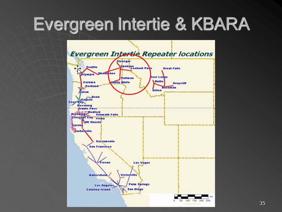 35 Evergreen Intertie & KBARA