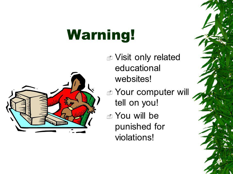 Search Tips Use good search engines –Google, WebCrawler Use quotation marks to tie words together –Natural Resources Use specific terms –soil erosion
