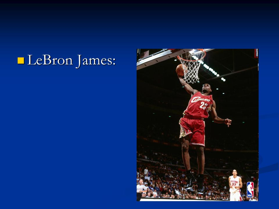 King James averaged 20 points in his first season, in addition to being chosen Rookie of the Year and being selected to play in the Olympics Games of 2004 with the USA.