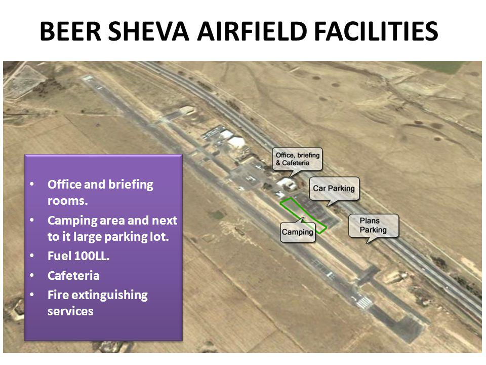 BEER SHEVA AIRFIELD FACILITIES Office and briefing rooms.