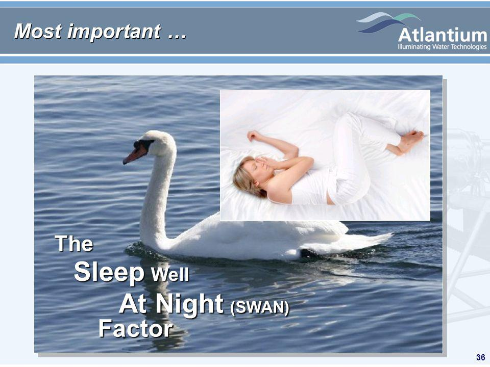 36 Most important … The Factor Sleep Well At Night (SWAN)