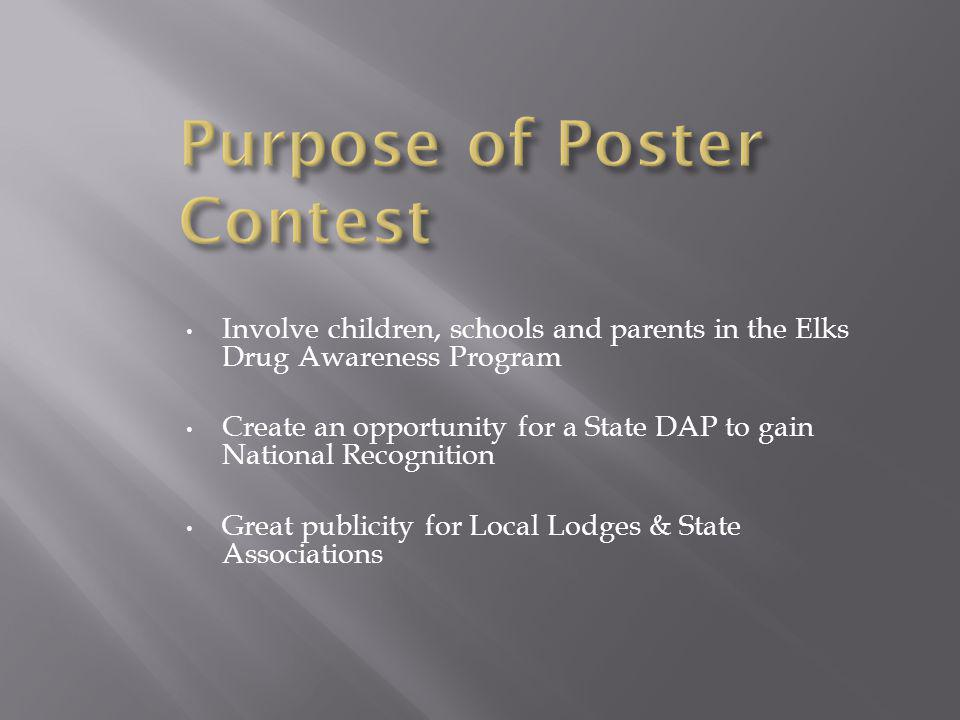 POSTERS ARE USED TO CREATE THE ELKS COLORING BOOK!