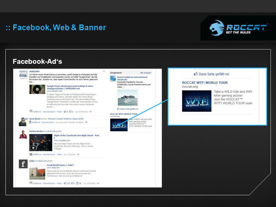 :: Facebook, Web & Banner Facebook-Ads