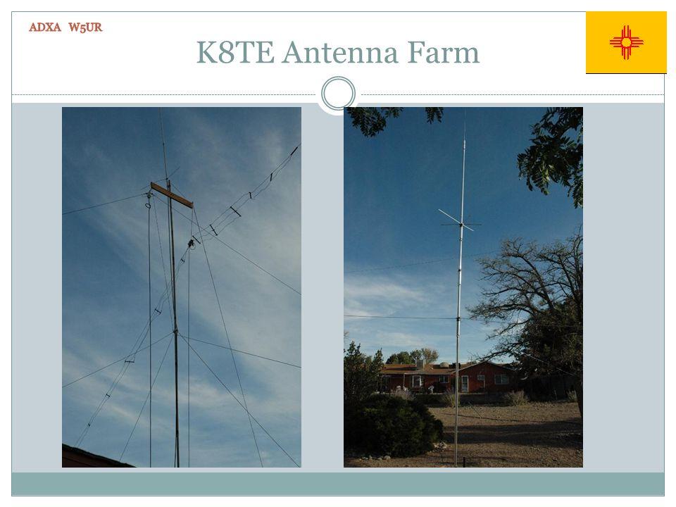 K8TE Antenna Farm