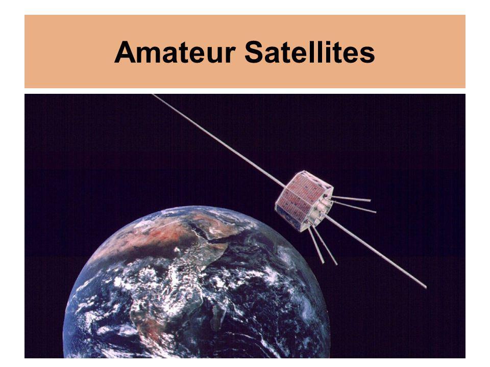 Amateur Satellites