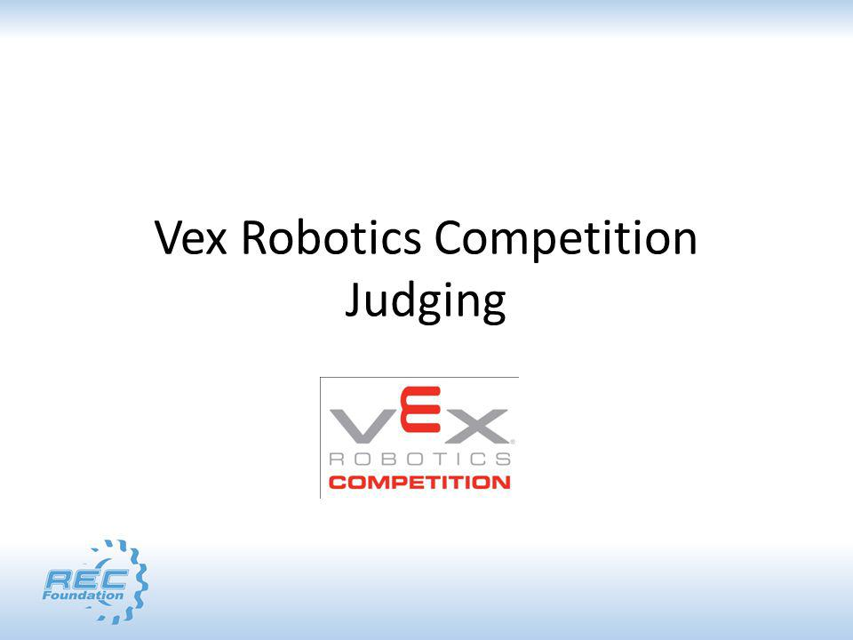 RECF Event Partner Summit VEX Robotics College Competition Marc Couture