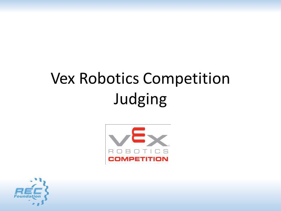 Vex Robotics Competition Judging