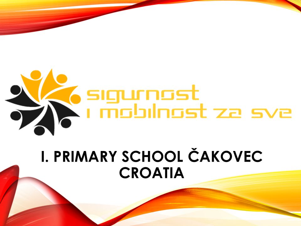 I. PRIMARY SCHOOL ČAKOVEC CROATIA