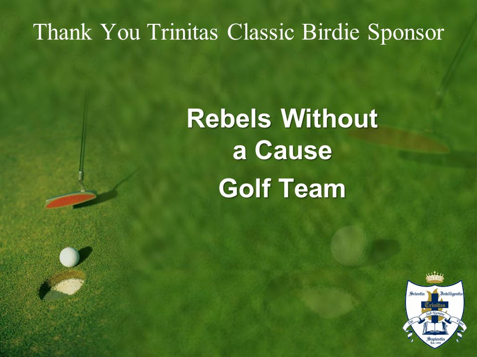 Rebels Without a Cause Golf Team