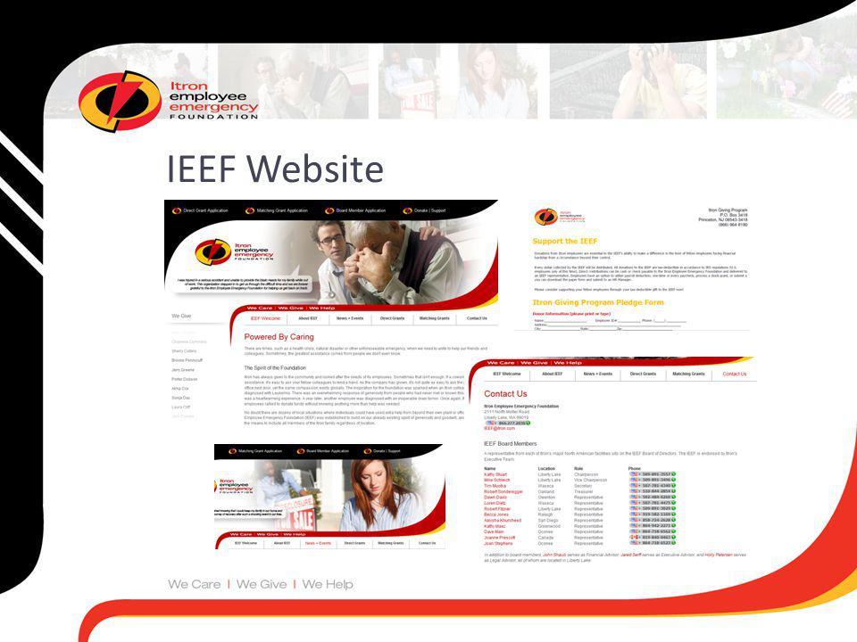 IEEF Website
