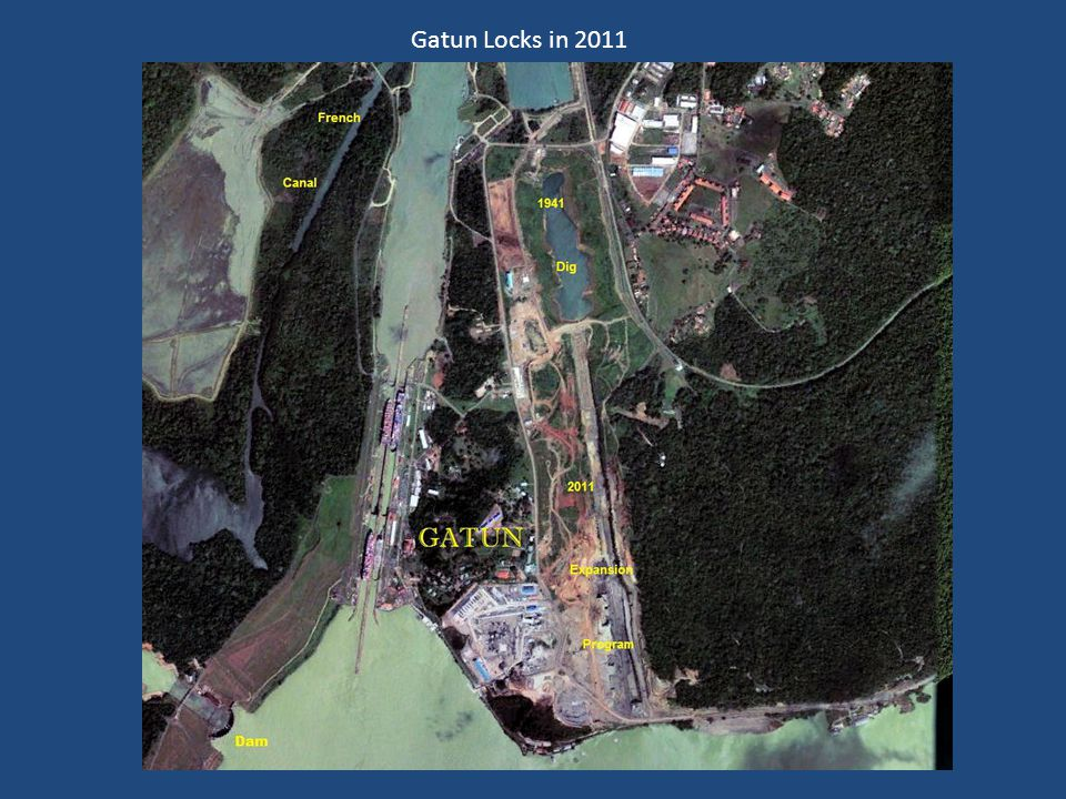 Gatun Locks in 2011