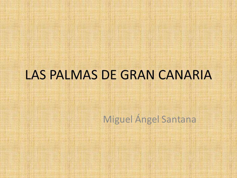 LAS PALMAS DE GRAN CANARIA Miguel Ángel Santana