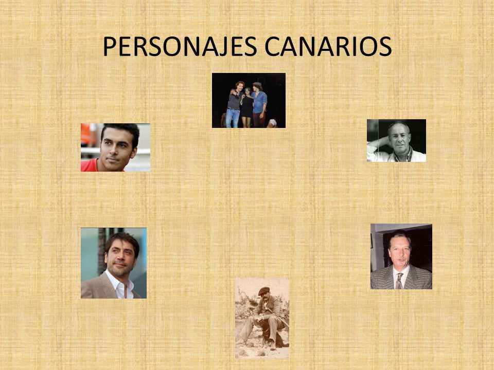 PERSONAJES CANARIOS