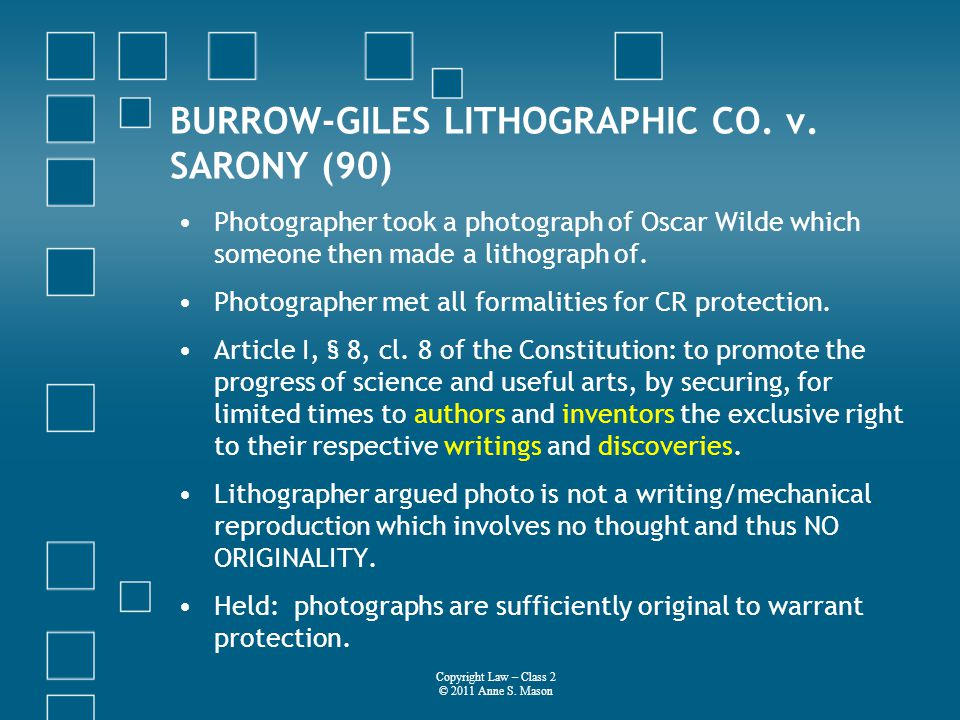 BURROW-GILES LITHOGRAPHIC CO. v.