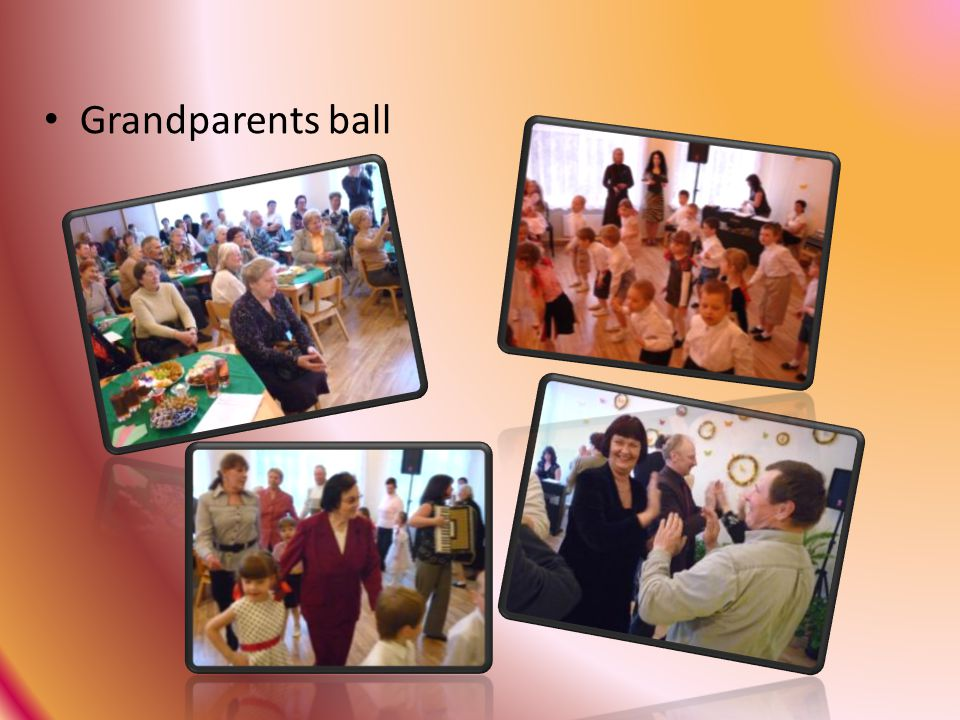 Grandparents ball