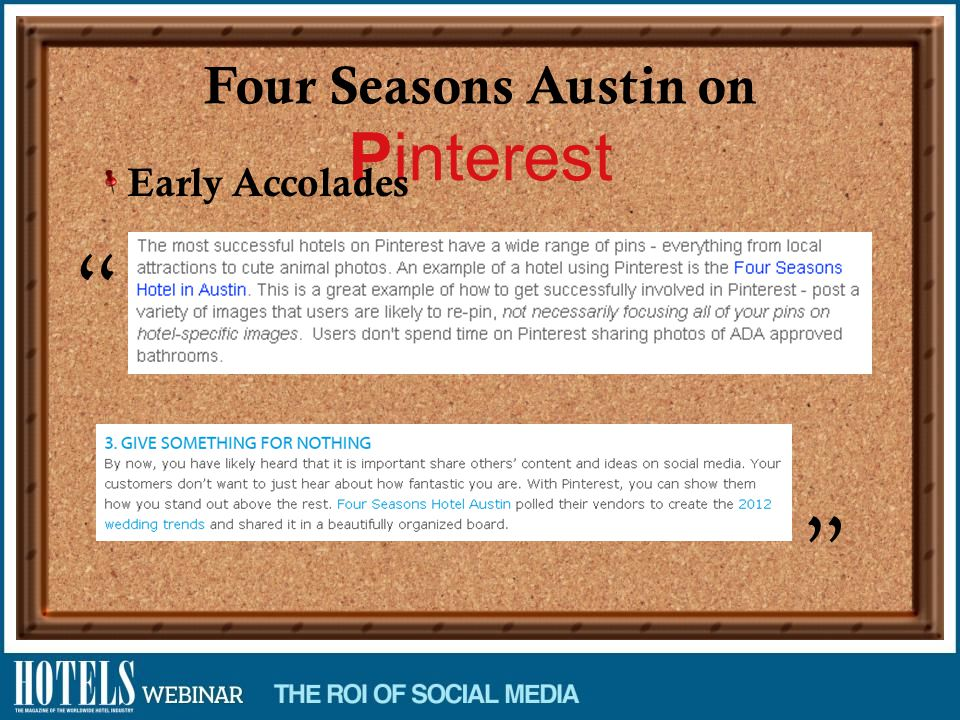 Four Seasons Austin on Pinterest Early Accolades