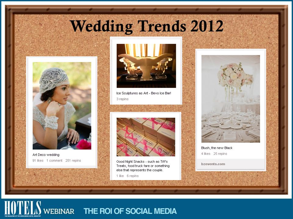 Wedding Trends 2012