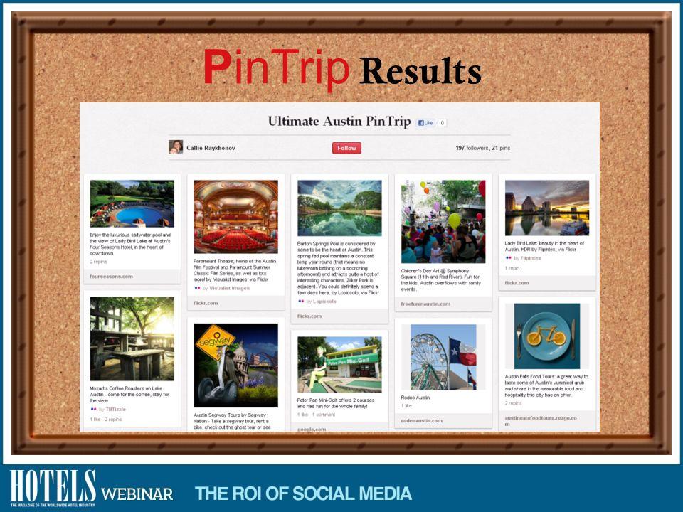PinTrip Results