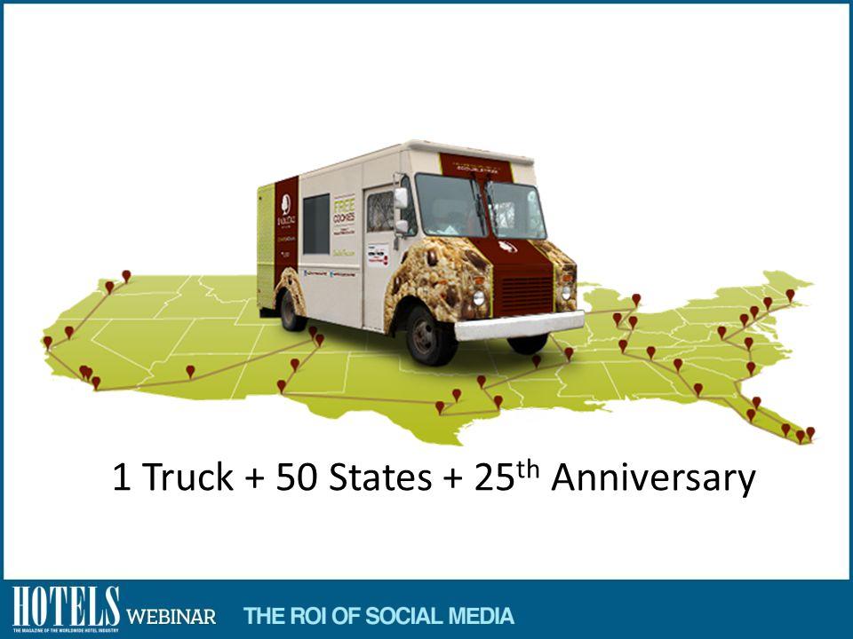 1 Truck + 50 States + 25 th Anniversary