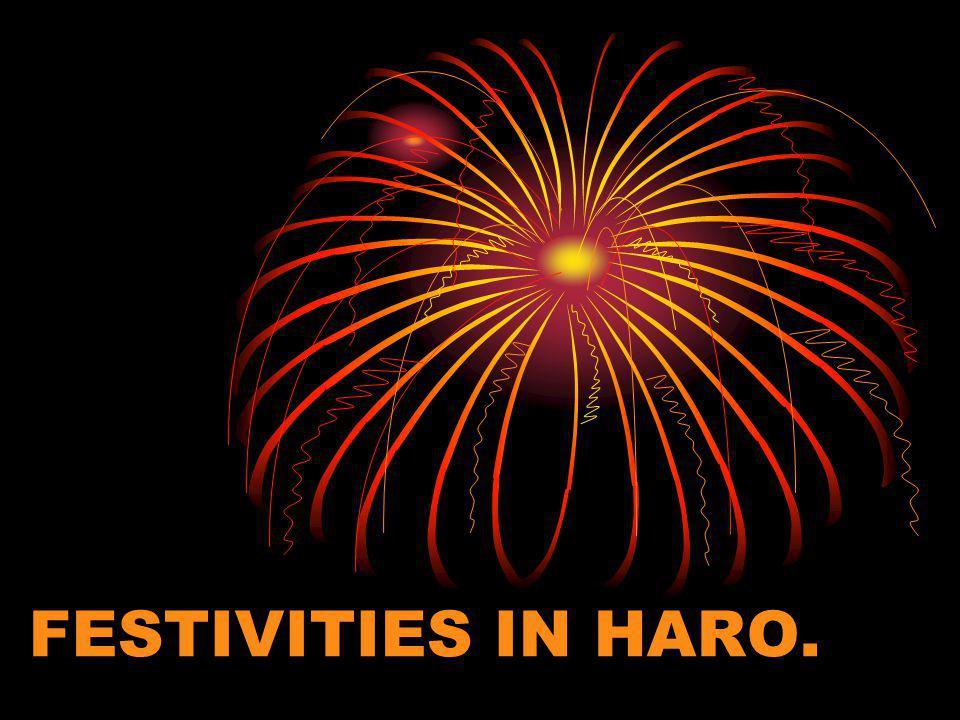 FESTIVITIES IN HARO.