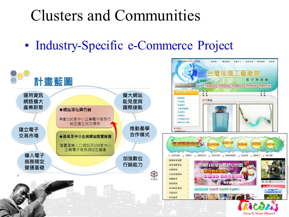 Clusters and Communities Industry-Specific e-Commerce Project