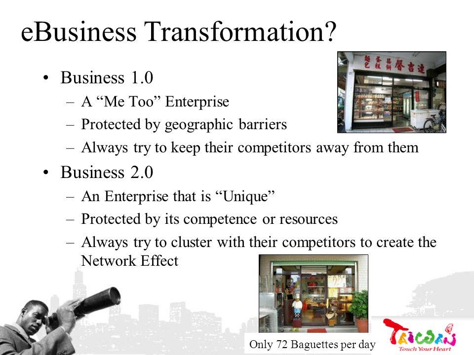 eBusiness Transformation.