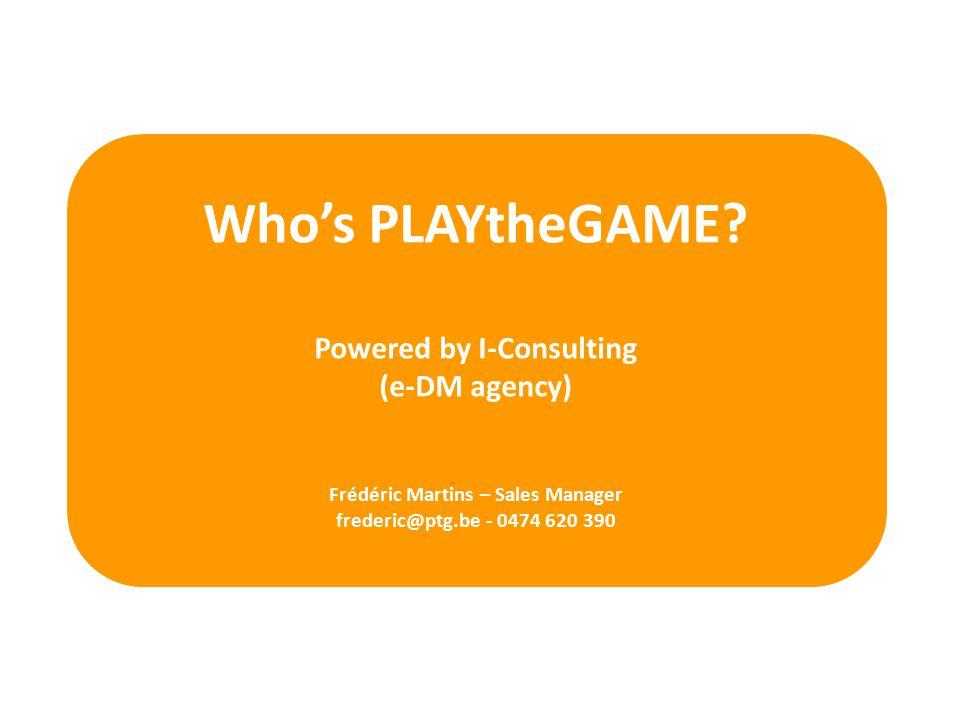 Whos PLAYtheGAME.