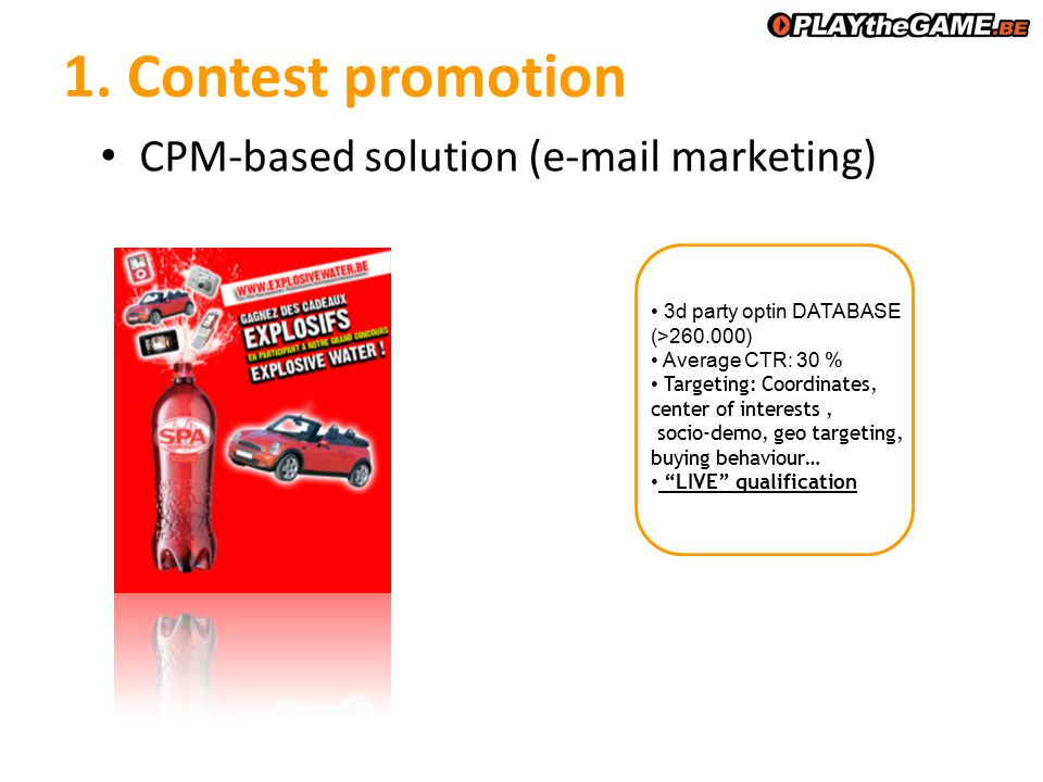 5. Traffic Building Content integration DESCRIPTION Buying method: CPC Text Image
