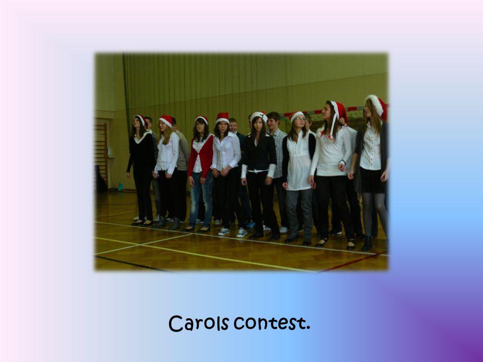 Carols contest.