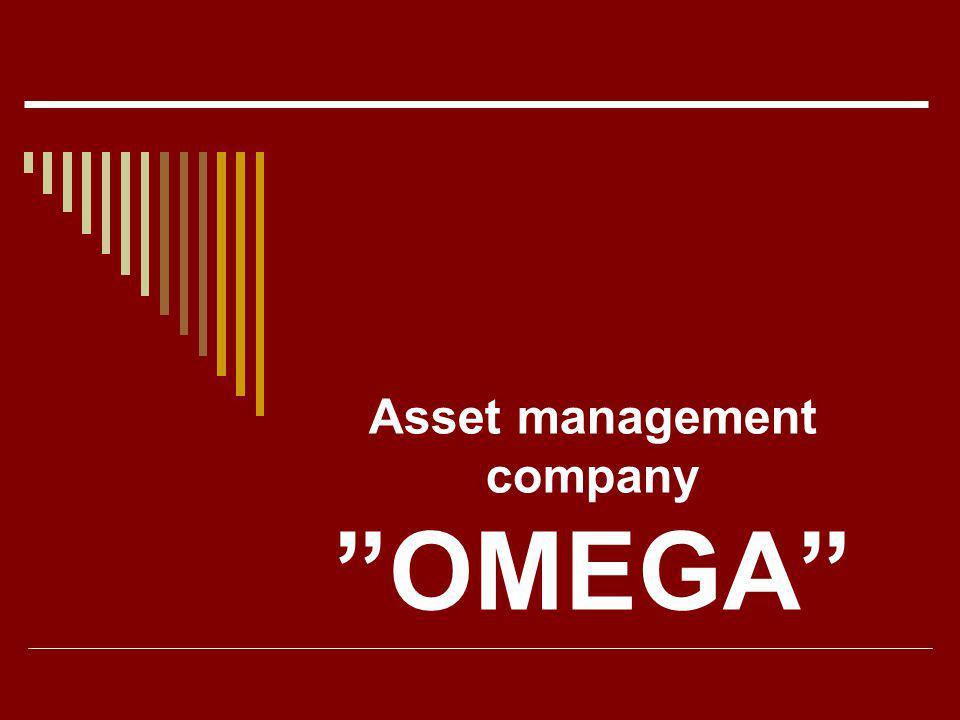 Asset management company OMEGA