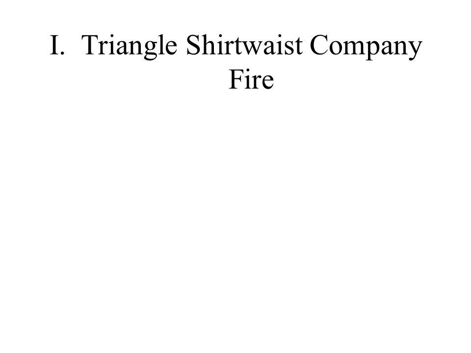 I.Triangle Shirtwaist Company Fire