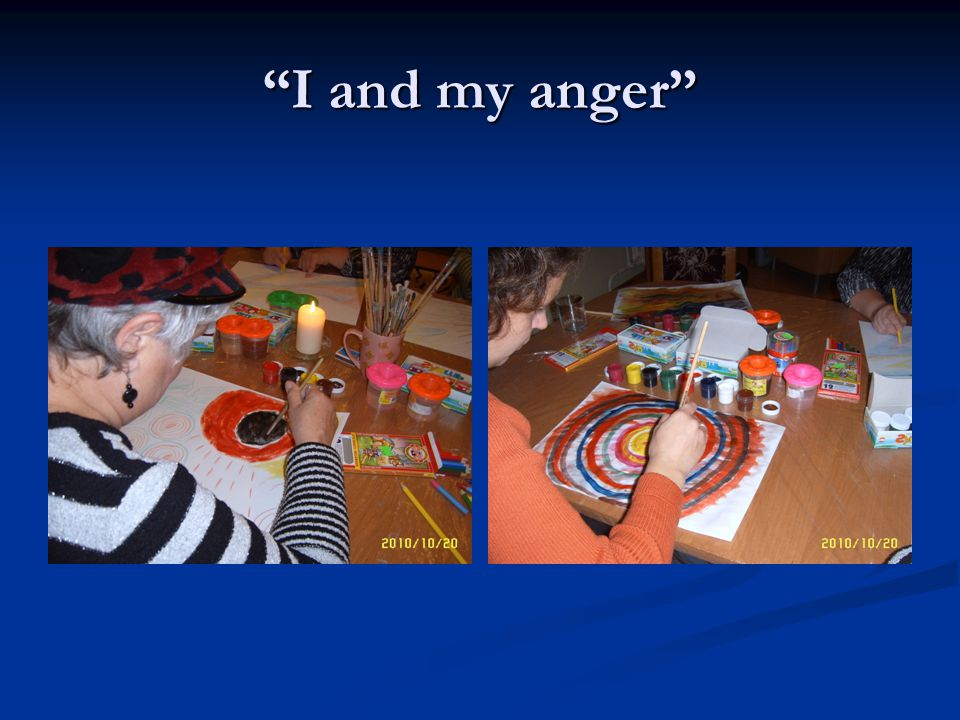 I and my anger