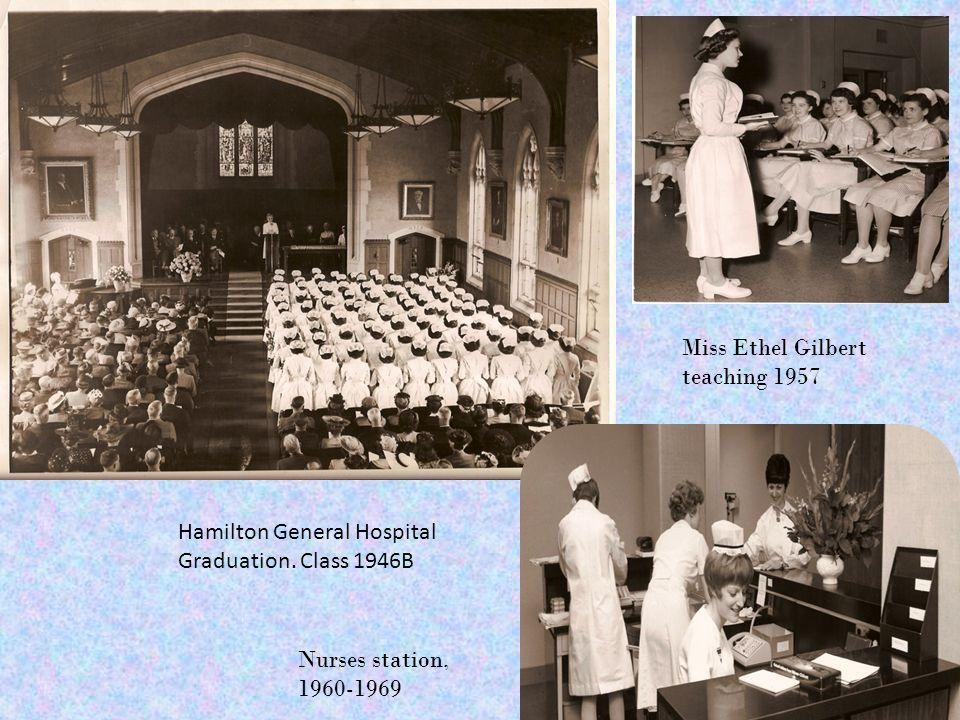 Hamilton General Hospital Graduation.