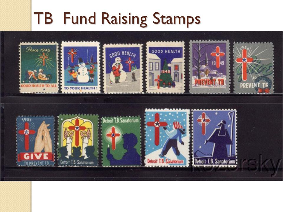 TB Fund Raising Stamps