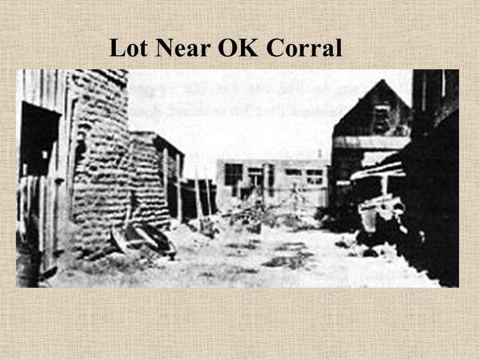 Lot Near OK Corral