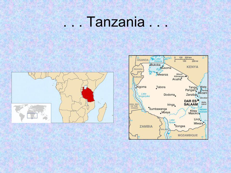... Tanzania...