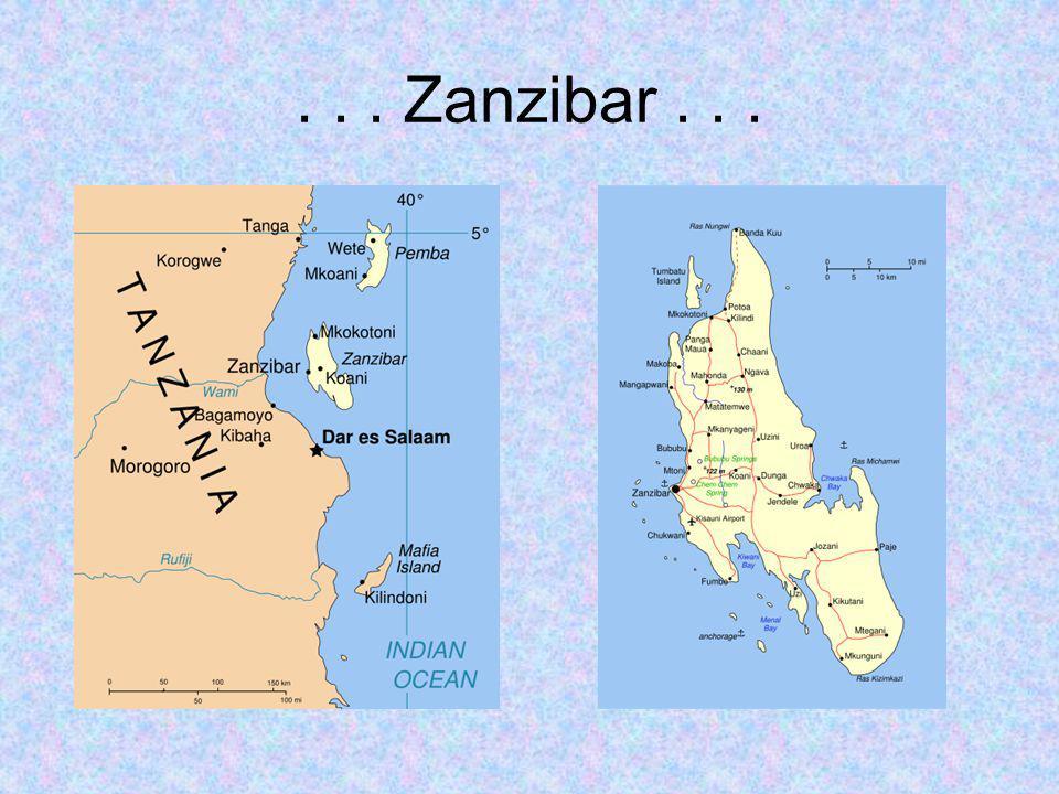 ... Zanzibar...