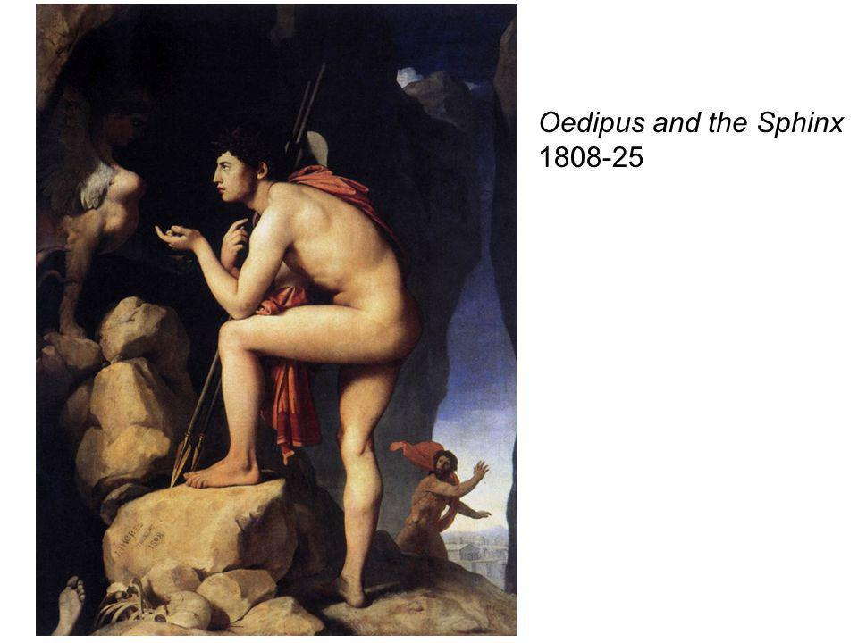 Oedipus and the Sphinx 1808-25