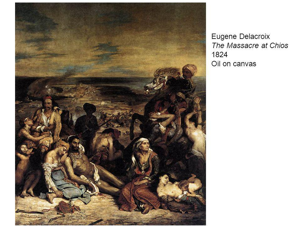 Eugene Delacroix The Massacre at Chios 1824 Oil on canvas