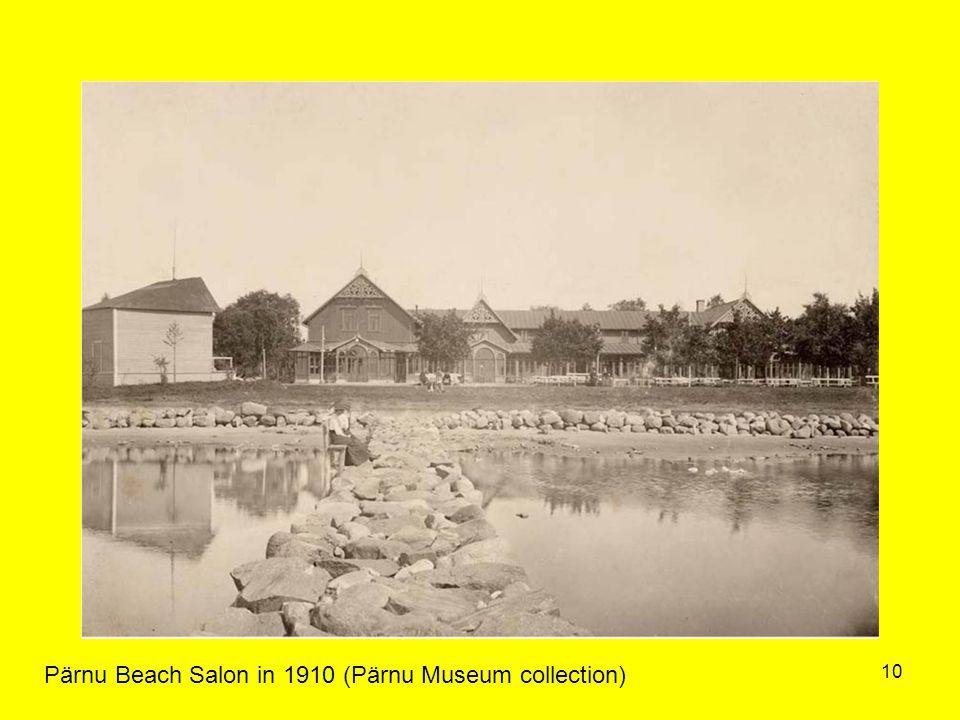 10 Pärnu Beach Salon in 1910 (Pärnu Museum collection)