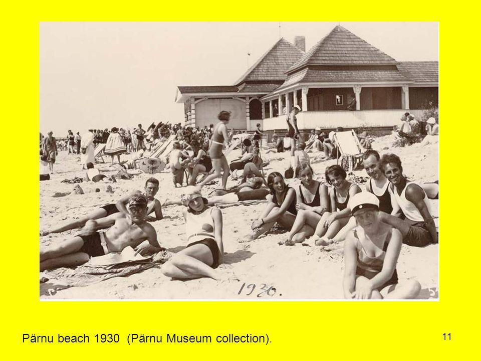 11 Pärnu beach 1930 (Pärnu Museum collection).