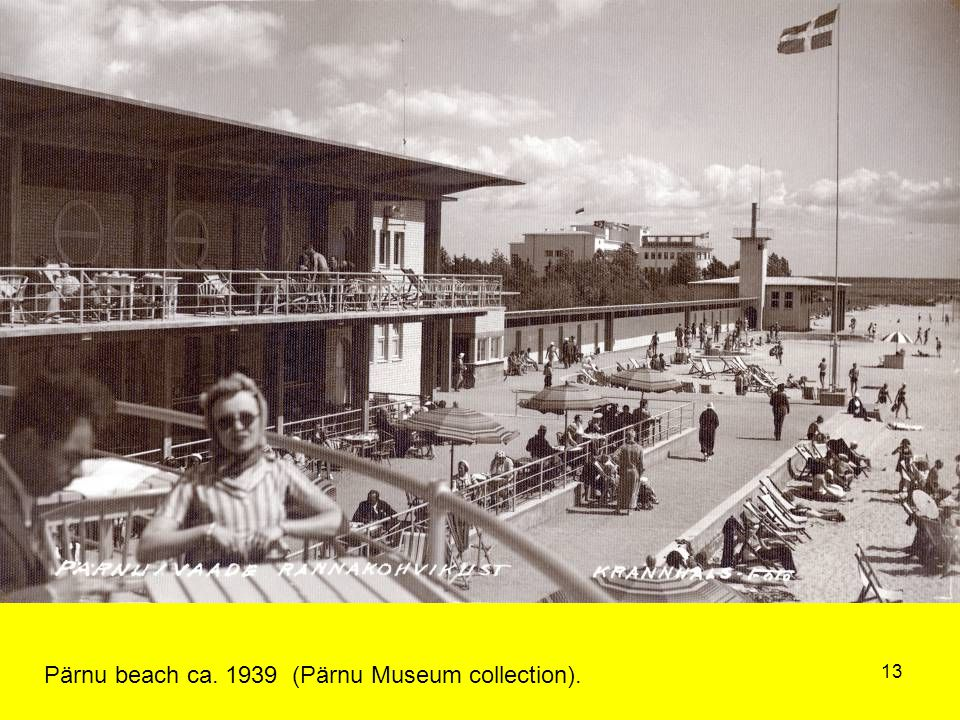 13 Pärnu beach ca. 1939 (Pärnu Museum collection).